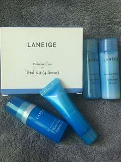 Laneige! Moisture Care Trial Kit