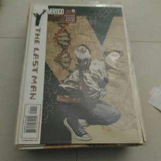 DC comic vertigo swamp thing batman
