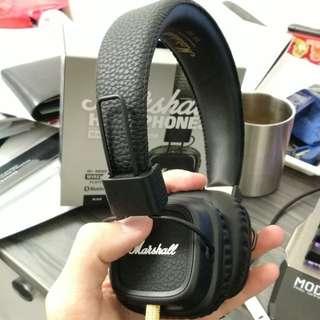 Marshall Major 2 耳機 9成9新