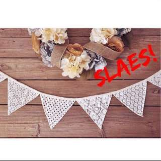Lace Bunting ( Clearance- Limited to last 3 Set )
