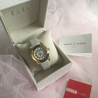 Elle time watch (white)