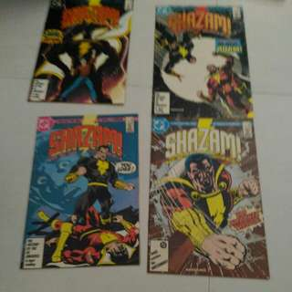 Dc shazam marvel comic