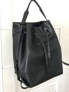 Opening Ceremony convertible bucket bag backpack