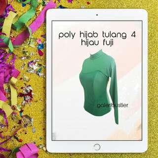 Bustier hijab tulang 4 hijau fuji