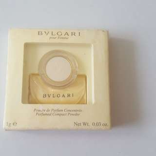 Bulgari Perfumed Compact Powder