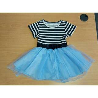 *FREE DELIVERY to WM only / Ready stock*  Kids tutu dress stripes each 2-5yo GW146 as shown design/color. Free delivery is applied for this item.