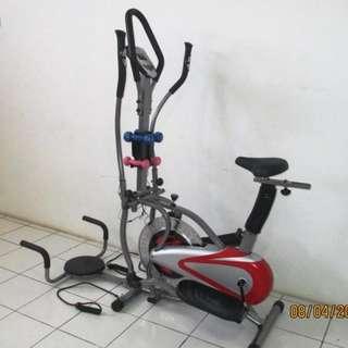 Orbitrack 5 Fungsi Alat Olahraga Fitness Gym Bersepeda Di Rumah Harga Murah