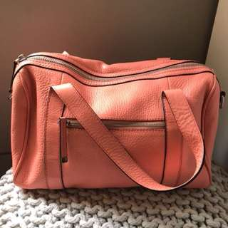 LIKE NEW COUNTRY ROAD PINK BOWLING BAG
