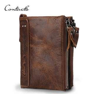 Genuine Leather Wallet for Men (PN009)