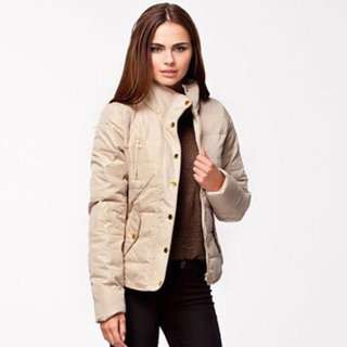 Quilted Down Winter Jacket