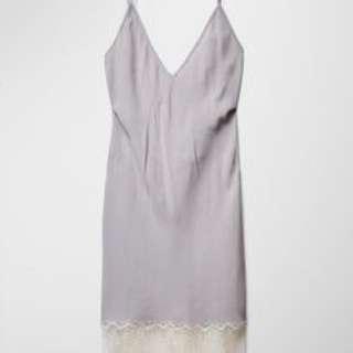 Aritzia Moulin Dress Size Small in Ashen