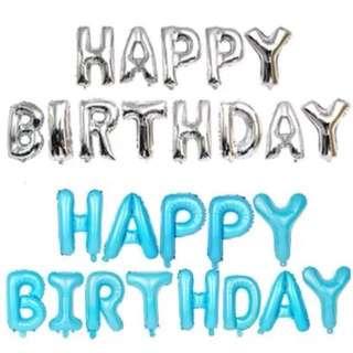 16 inch Happy Birthday Foil Balloons