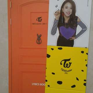 TWICE TWICECOASTER : LANE 2  CHAEYOUNG STANDEE + LYRICS BOOK