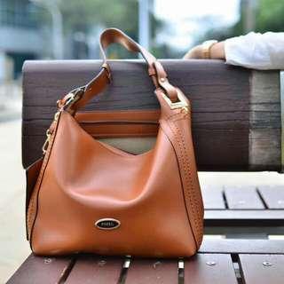 Handbag fossil hobo