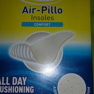 Scholl air pillow