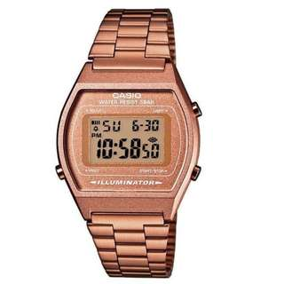 Casio Vintage B640WC-5A Rose Gold Watch for Women - COD FREE SHIPPING