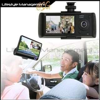 Car Audio Video DVR Dual Camera (GPS or Reverse Camera)