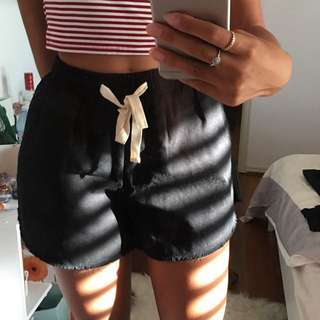 Black thick shorts BNWT