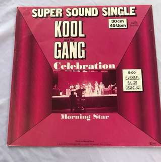"Kool and The Gang - Celebration 12"" Single"