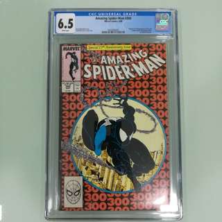 Amazing Spiderman #300, CGC 6.5