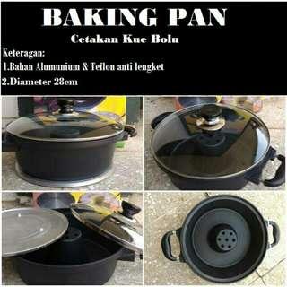 Baking pan teflon