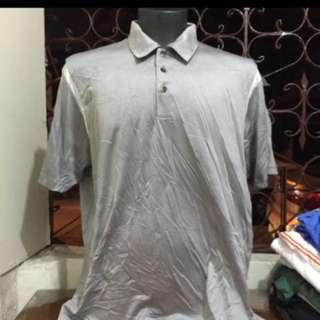 ADIDAS gray CLIMACOOL drifit polo shirt xl