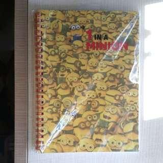 BNIP USS Minion Spiral-bound Notebook