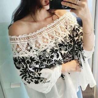 Embroid Top