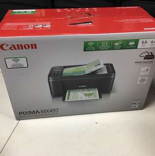 Canon PIXMA MX497 Printer