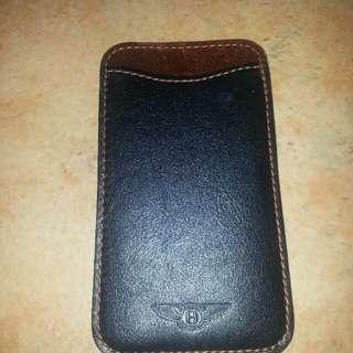 Bentley Leather Pocket Holder
