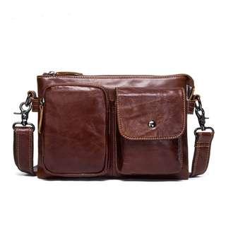 Genuine Leather Bag for Men (PN110)