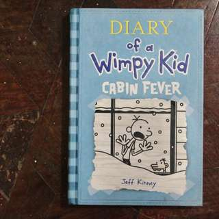Hardbound: Diary of A Wimpy Kid CABIN FEVER
