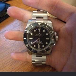 Rolex Submariner 黑圈