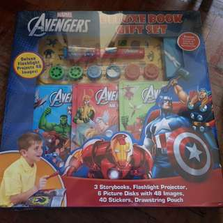 Marvel's The Avengers Deluxe Book Gift Set