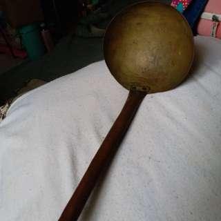 銅製勺子 古董
