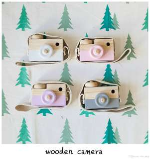 Brand New in box Wooden Camera Toy