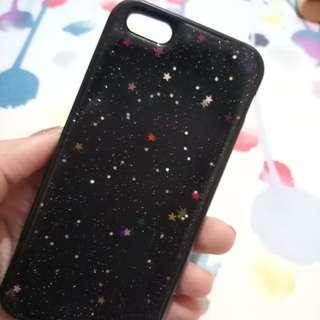 Softcase Gliter iphone 5s
