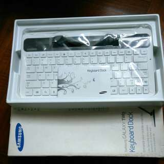 Samsung Tab 7.7 Keyboard Dock