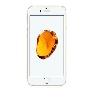 ( KREDIT TANPA DP DAN BUNGA 0% ) Apple Iphone 7 128GB Gold