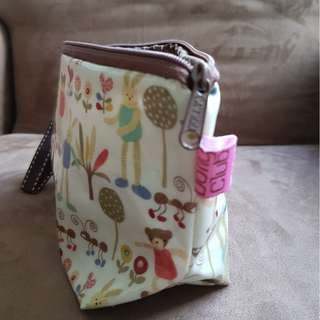 Dolly Club Cosmetic Bag, Cosmetic Pouch, Holder. Made in Taiwan