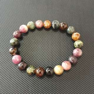 🎆SPECIAL OFFER🎆Brazilian Old mine Tourmaline bracelet. Bead size 10mm