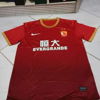 Jersey rare item guangzhou player issue