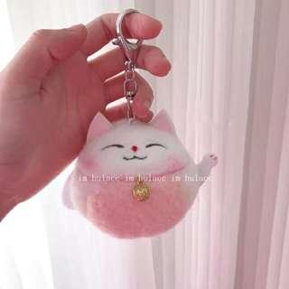 Lucky Kitty Keychain