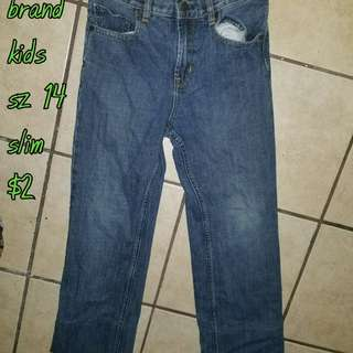 Kid boys bottoms sz L, 14, & 16