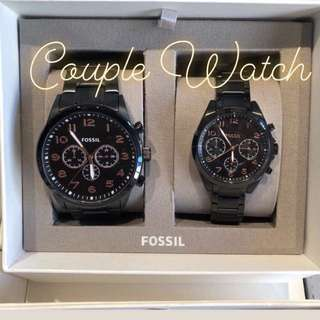 Authentic Fossil Couple Watch ON HAND