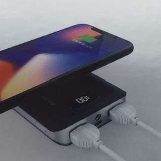 LASTEST Wireless Fast Charger Power Bank 10000mAh