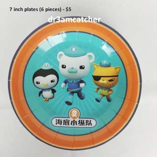 Sold! Octonauts theme party supplies