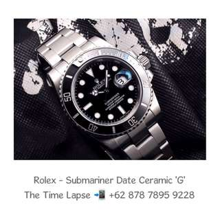 Rolex - Submariner Date Ceramic 'G' (Watch Only)