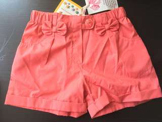 Brand new shorts for girl 2 years