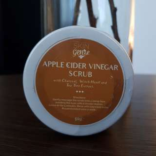 Apple Cider Vinegar Scrub